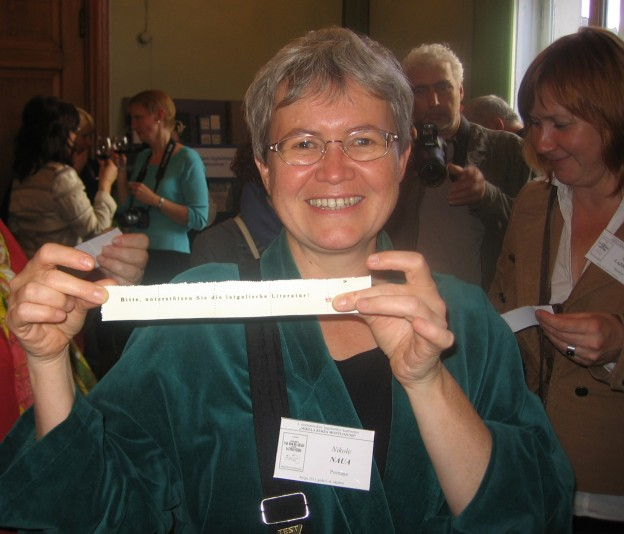 During the 5th Conference on Latgalistics, Riga 2012